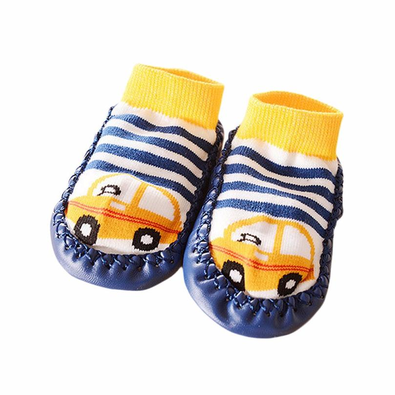 Baby Shoes Soft soles Cartoon Kids Toddler Baby Anti-slip Sock Shoes Boots Slipper Socks Chaussure Bebe
