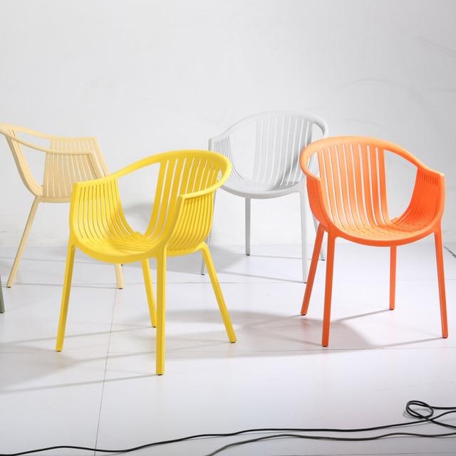 Plastic Minimalist Modern Casual Fashion Creative Chairs Office Chair  Supernatural Chair Rattan Chair Balcony Chairs