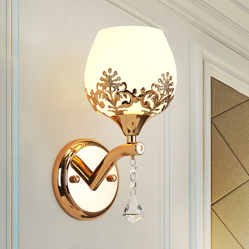 Современные творческие кристалл лампы спальня ночники фоне стены коридора простой энергосберегающие светодиодные лампы lu628 zl440 lu1011