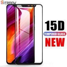 15D pełna ochrona telefonu szkło dla Xiao mi mi 8 9 SE mi 8 Pro mi 9 A1 A2 Lite Pocophone F1 Max 3 2 hartowane zabezpieczenie ekranu Film
