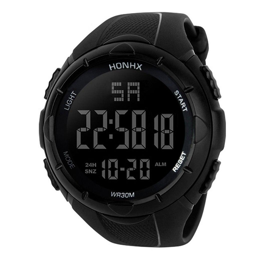 Luxury Analog Digital Military Silicone Army LED Horloges Wrist Watches Men Relogio Masculino Sports Wristband Running Gift
