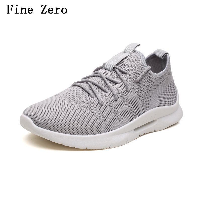 Fine Zero High Quality Male Casual Shoes 2018 Tide Adult Tennis Stretch Fabric New Desig ...