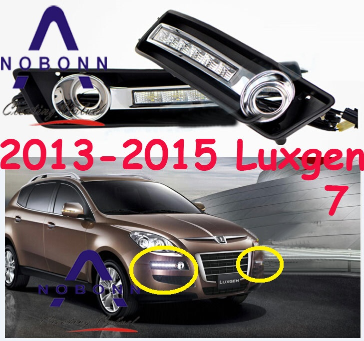 Luxgen7 daytime light;2013~2016, Free ship!LED,Luxgen 7 fog light,Luxgen7 2013 2016 innova daytime light free