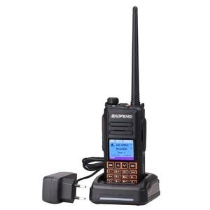Image 3 - Walkie talkie dmr baofeng banda dupla, rádio digital DM X gps, 5w, vhf, uhf, slot dupla, dmr ham amador transmissor rádio hf