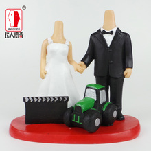 Wedding Gift Wedding Cake Topper Personalized Custom real doll custom clay dolls fixed resin body SR120
