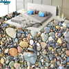Beibehang Large Custom High Definition Pebble Small Stone 3D Floor Living Room Bedroom Bathroom Decoration Painting