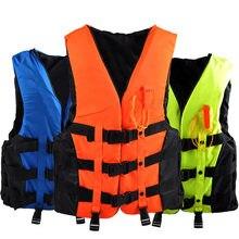 Спасательный жилет для взрослых двубортный водных видов спорта