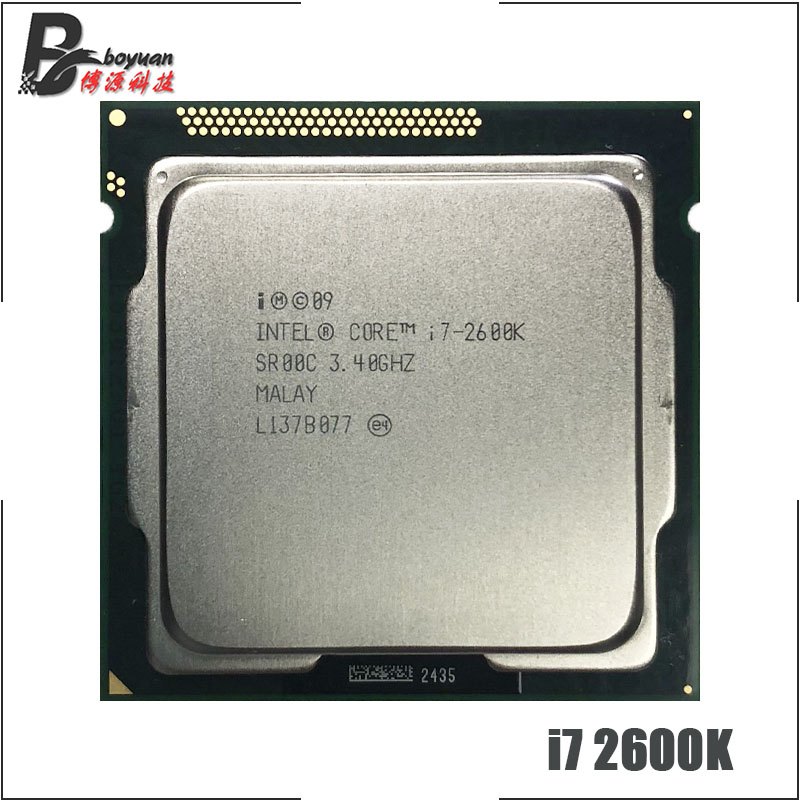 Intel Core i7 2600K i7 2600K 3 4 GHz Quad Core CPU Processor 8M 95W LGA