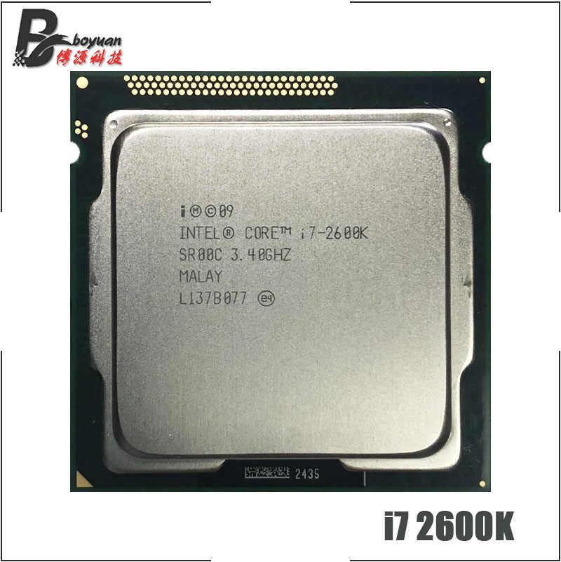 Четырехъядерный процессор Intel Core i7 2600K 3 4 GHz 8M 95W LGA 1155|cpu processor|core i7-2600k|intel core i7-2600k -