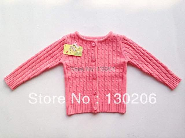 Girls sweater cardigan spring and autumn new Korean fashion style sweater coat baby coat children's clothing