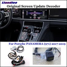 Liandlee For Porsche PANAMERA (971) 2017 Original Display Update System Car Rear Reverse Parking Camera Decoder Reversing system