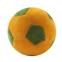 Soccer Ball Pillow Fluffy Stuffed Plush Throw Soft Durable Sports Toy Gift For Kids Room Decoration(China)