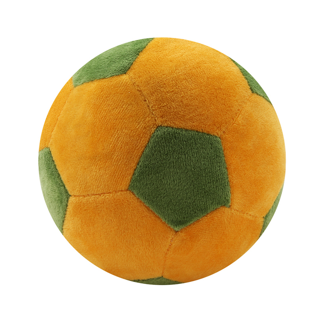 Soccer Ball Pillow Fluffy Stuffed Plush Throw Soft Durable Sports Toy Gift For Kids Room Decoration
