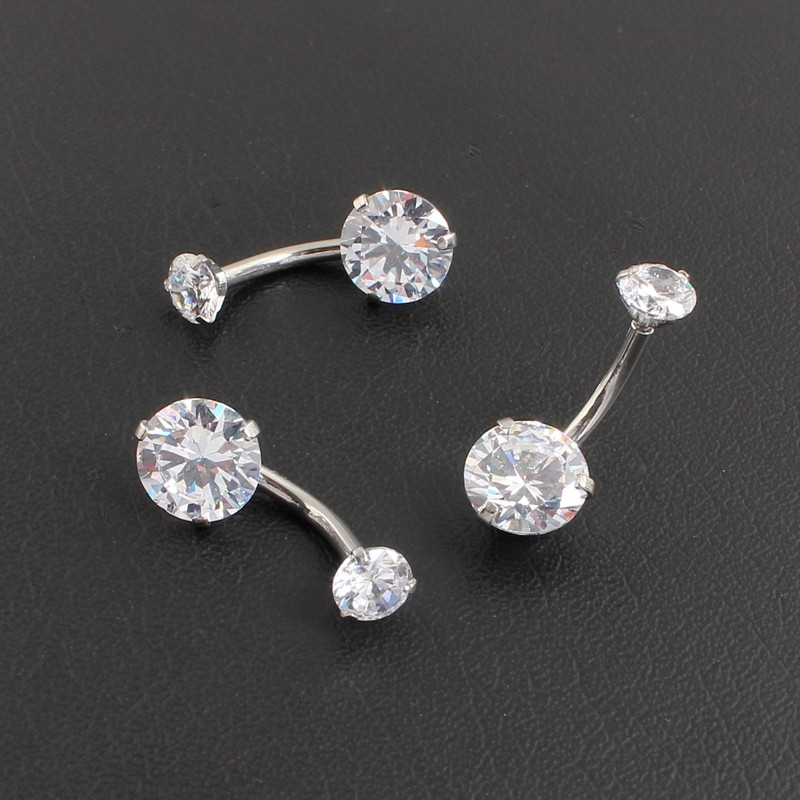 HTB1.xr7OFXXXXb7XFXXq6xXFXXXU Pretty Zircon Jewel Prong Style Belly Button Ring - 2 Colors