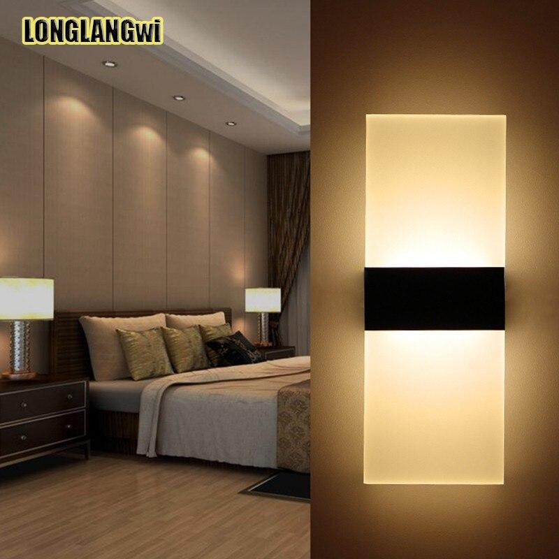 Lampes murales de chambre à coucher modernes Abajur Applique Murale ...
