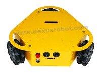 3WD Triangular 100mm Omni Wheel Mobile Robotics Car 10003