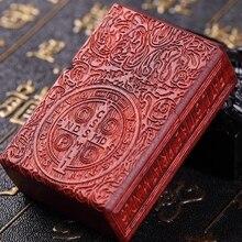 ZP фирменные вставки ручной резной констанин крови сандалового дерева зажигалки
