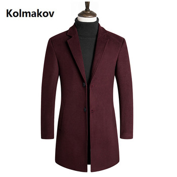 2019 spring New style Single breasted men coat Men's fashion Casual trench coat Men's high quality business jackets
