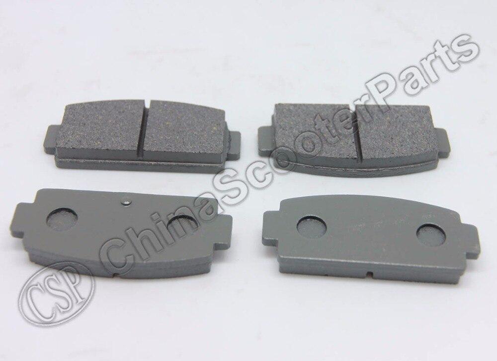 2 Pairs Rear Brake Pad For CFmoto CF moto 500 500CC 600CC 800CC Z5 Z6 Z8