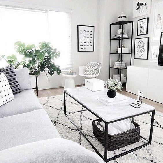 collalily Kilim handmade Carpet geometric Bohemia Indian Rug plaid striped Modern black white design Nordic style 2