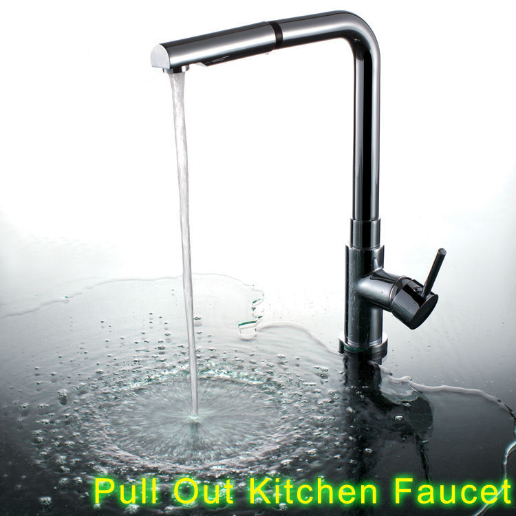 Superfaucet Pull Out Kitchen Faucet,Taps For Kitchen Sink,Kitchen Faucet Mixer,Kitchen Spray Mixer HG-1105DC