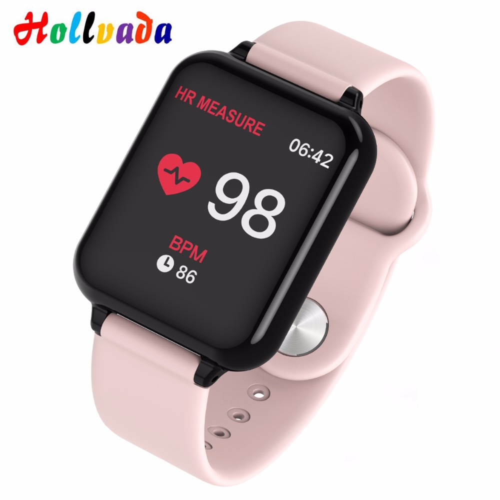B57 Sport Smart Watches Waterproof Android Watch Women Men Smart watch With Heart Rate Blood Pressure Smartwatch For IOS phone|Smart Watches|   - AliExpress