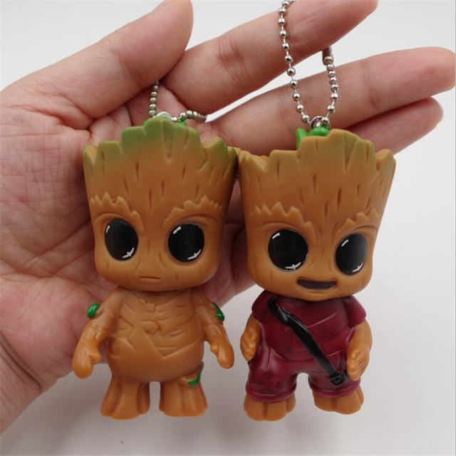 One Piece PVC Key Chain Action Figure Toy