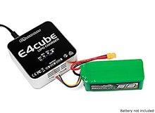 E4 Cube 50W Balance Charger for LiPo 100~240V AC (US Plug) original skyrc e4 charger 2 4 cells 1a 2a 3a 200ma lipo balance charger sk 100055