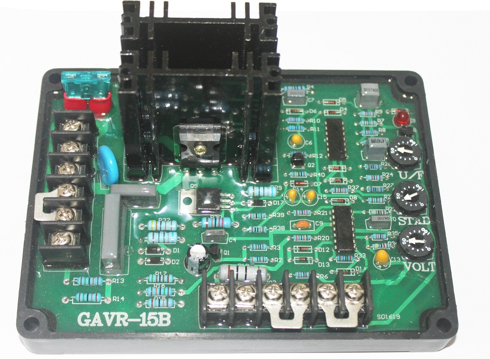 GAVR-15A Universal Brushless Generator Avr 15A Stabilizer gavr 15a universal brushless generator avr 15a stabilizer
