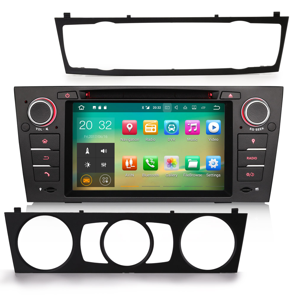 7 android 7 1 2 os car dvd for bmw e90 2005 2012