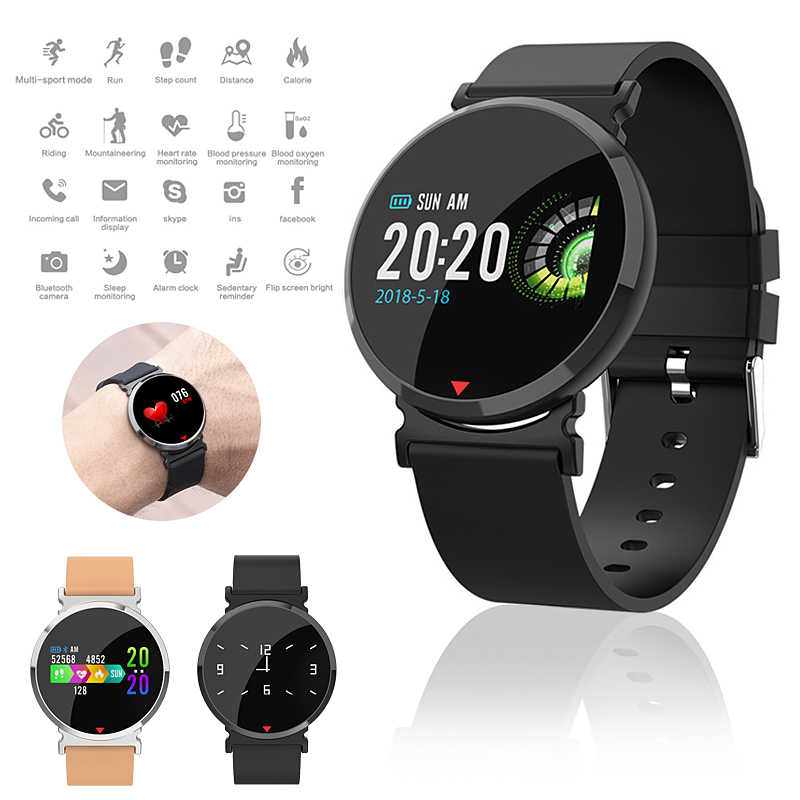E28 Akilli Saat Ile Nabiz Monitoru Smartwatch Kadin Bayan Saatler Su Gecirmez Reloj Inteligente Ios Android Icin Erkekler Icin Akilli Saatler Aliexpress