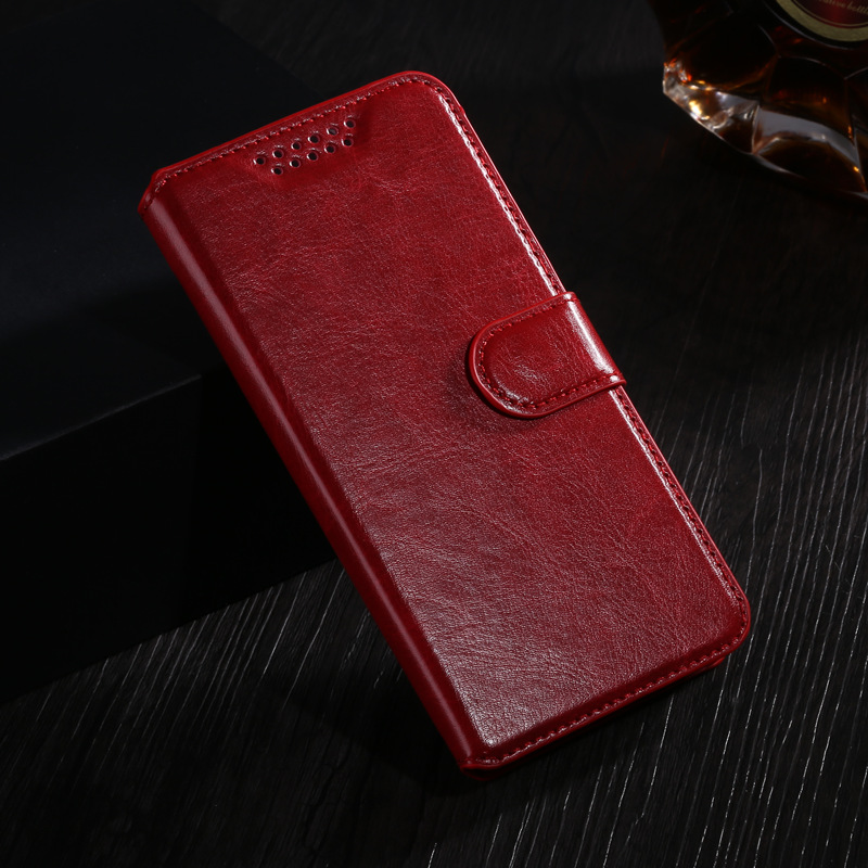 """Phone Cases For Homtom HT17 Case Leather Wallet Cover For Homtom HT17 Pro 5.5"""" Silicone Back Cover For Homtom HT 17 Funda Capa(China)"""