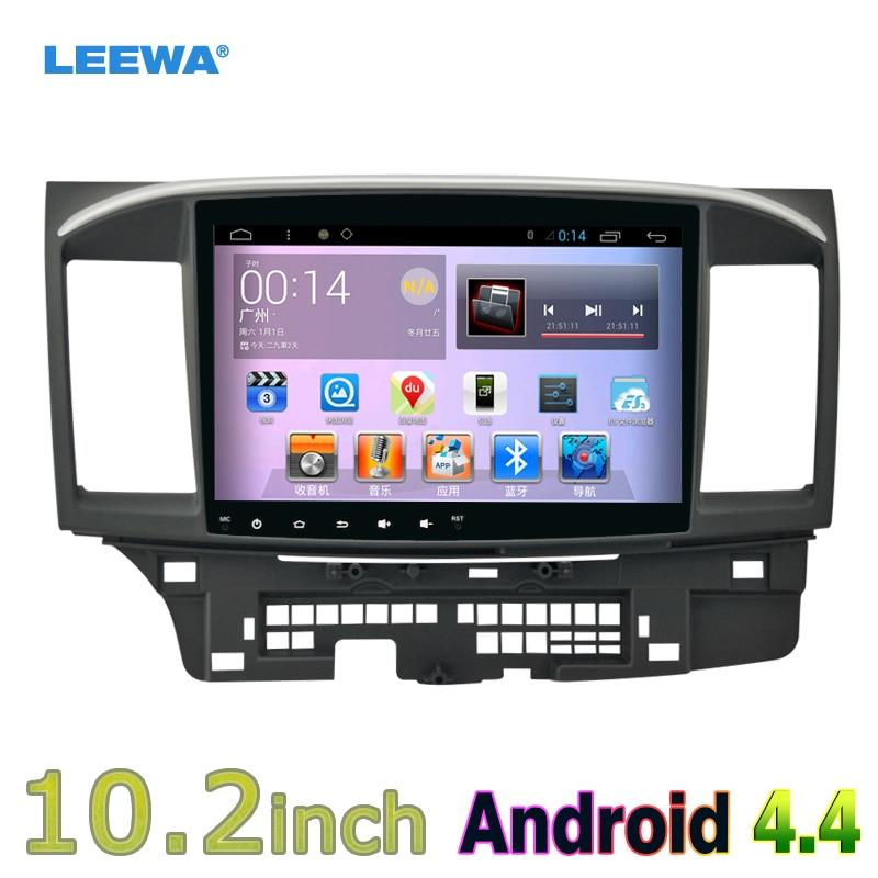 imágenes para 10 pulgadas Android 4.4 Cuádruple Núcleo Reproductor de Coche de La Unidad Principal Con GPS Navi de Radio Para Mitsubishi Lancer EX (2007-presente CY2A-CZ4A) LHD #4681