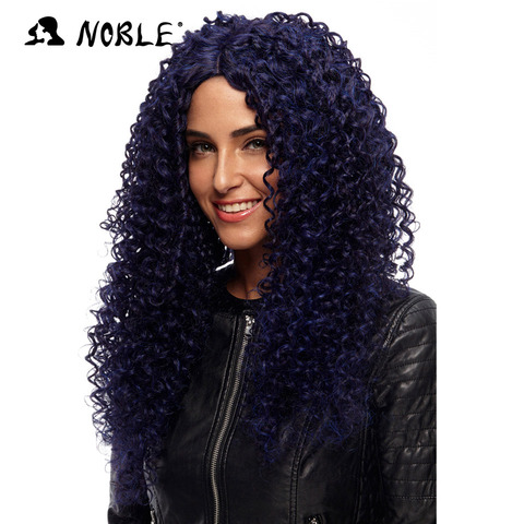 Noble Hair Products Wig 26 Inch Long Curl Cosplay Elastic I Part Lace Synthetic U Part Wigs for Black Women  Free Shipping Lahore
