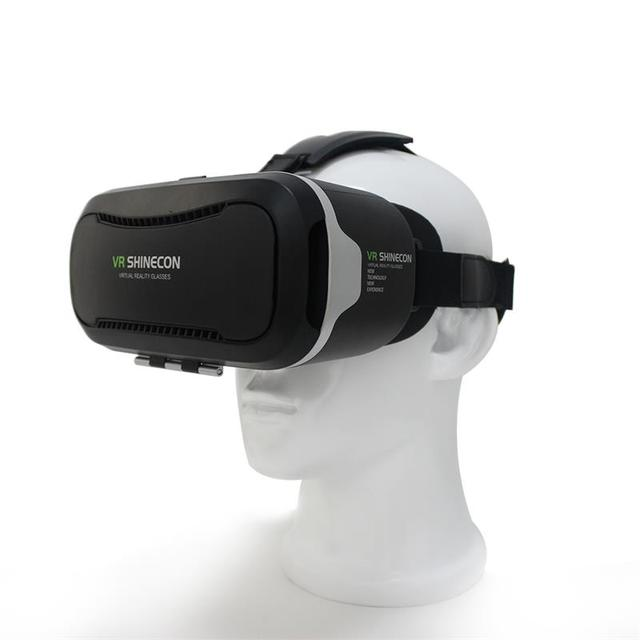 43514f71aee VR shinecon ii 2.0 Virtual Reality 3D Glasses Google Cardboard 2.0 Pro  Version VR Glasses+Bluetooth Remote Control Gamepad