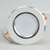 Prevent Mist Tube Light AC85 265V Cold Warm White Recessed Mounted Dimmable LED Ceiling Light LED