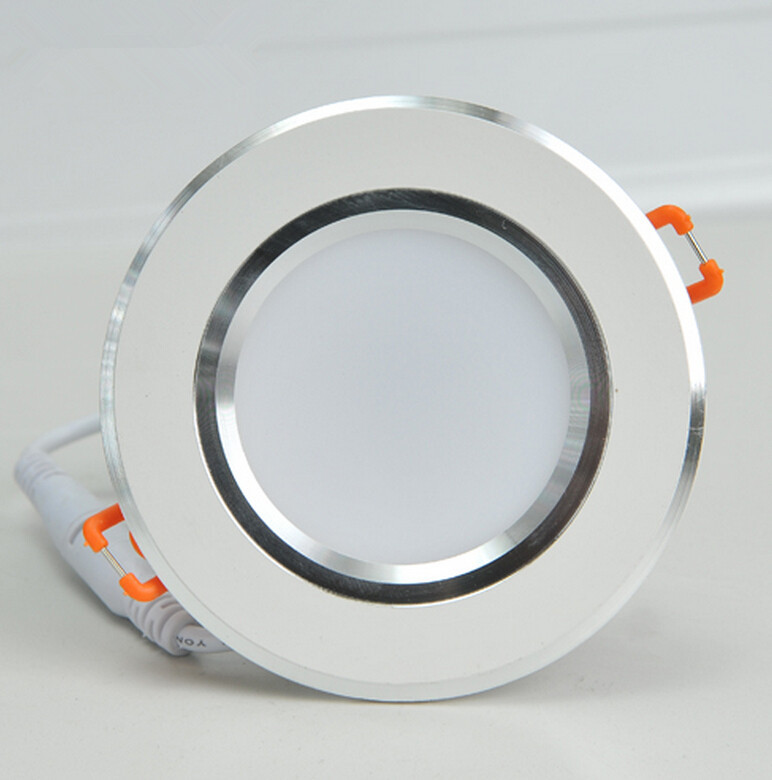Prevent mist tube light AC85~265V Cold/warm white Recessed Mounted Dimmable 15W LED Ceiling light LED Panel Down light lamp Bulb 48w samsung 5630 mounted recessed led ceiling panel light 60x60cm 3800 4200lm 2700 7000k color white pure white warm white