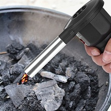 2019 1 Piece Portable Electric BBQ Fan Air Blower Burn Picnic Cooking Barbecue Camping Fire Blower Tools high quality mini electric blower barbecue appliance portable air blower for outdoor z