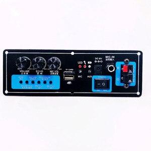 Image 1 - Wireless Speaker Bluetooth Audio Receiver 50W Digital Power amplifier Board subwoofer microphone Reverb 7.4V lithium battery