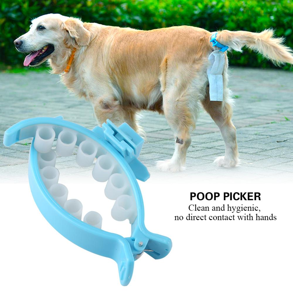 New Style Pet Dog Pooper Scooper Poop Bags Set Dog Cat Outdoor Waste Cleaning Poop Shit Pickup Remover Poop Bags
