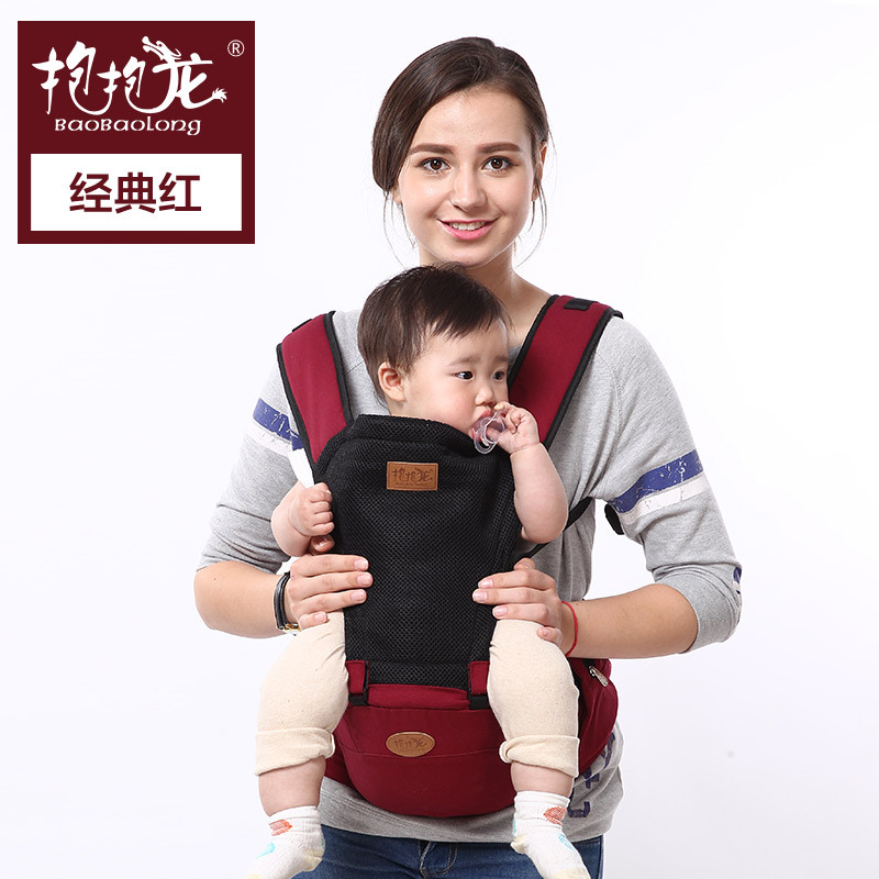 ФОТО Baby Bear multifunctional baby sling baby stool waist shoulders a generation of fat baby sling summer toddler