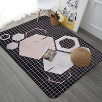 Nordic Style Geometric Area Rugs For Living Room Bedroom Large Carpets Sofa Coffee Table Floor Mats Study Kids Playing Tapete