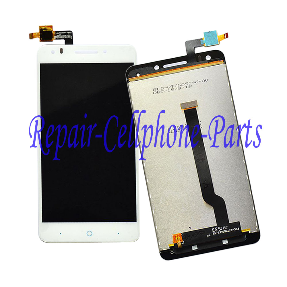 White 100% New Full LCD DIsplay + Touch Screen Digitizer Assembly Replacement  For ZTE Blade D Lux Free shipping , 100% TestedWhite 100% New Full LCD DIsplay + Touch Screen Digitizer Assembly Replacement  For ZTE Blade D Lux Free shipping , 100% Tested