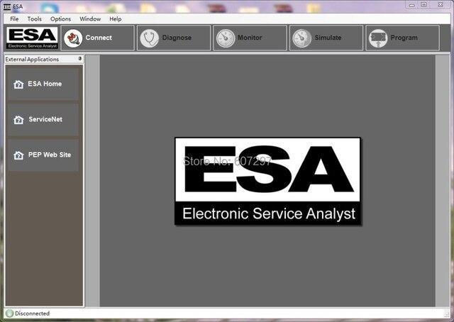 P accar Electronic Service Analyst (ESA) 4.4.5.207+keygen