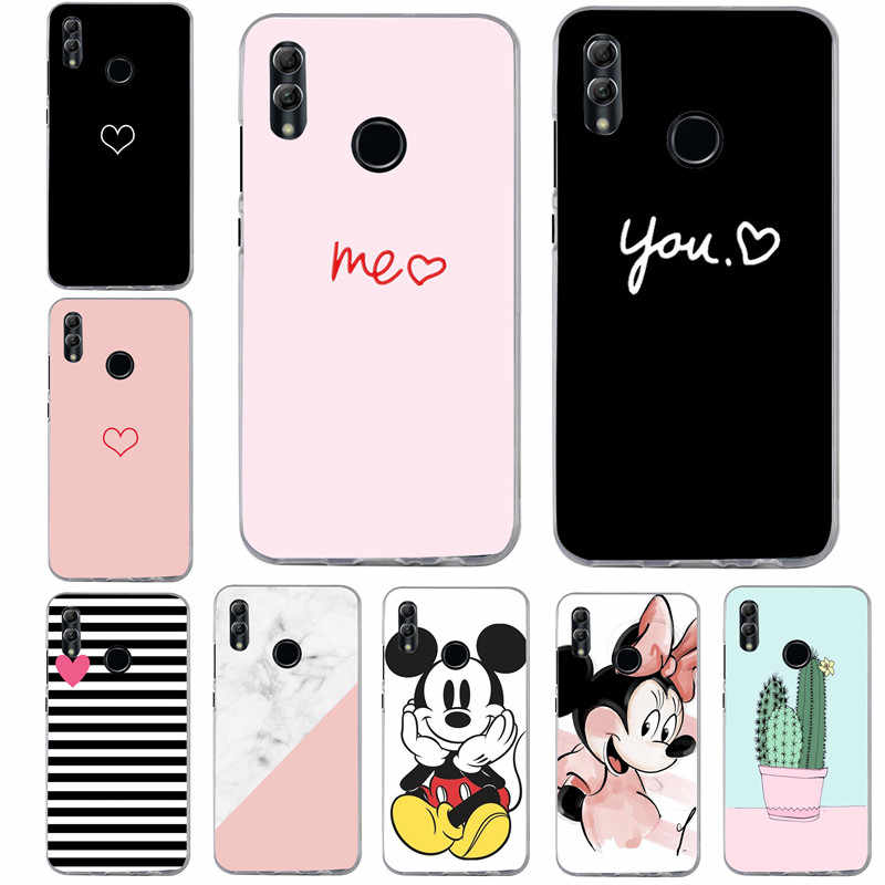 Soft Silicone TPU For Huawei P Smart 2019 Case Luxury Phone Cover For Huawei P8 P9 Lite Mini Mate 10 20 P10 P20 lite Pro Coque