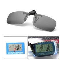 Новые мужские поляризованные солнцезащитные очки с зажимом для вождения, велоспорта, спорта на открытом воздухе, рыболовные очки, оборудование для рыбалки, аксессуары