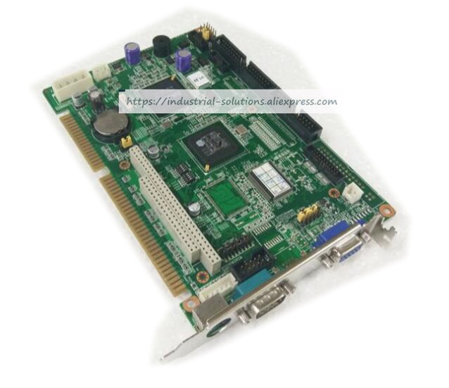 Fully Integrated Half-length Industrial Motherboard PCA-6742 100% tested perfect quality pca 6186 b1 industrial motherboard pca 6186ve only board not include cpu 100% tested perfect quality