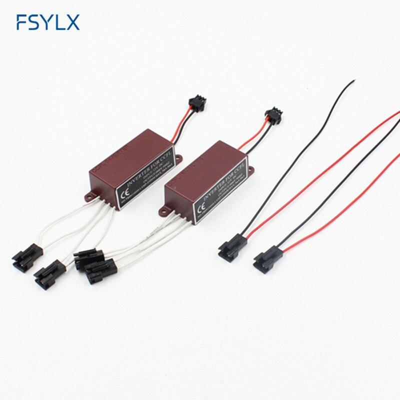 Fsylx ccfl inversor para carro led anjo