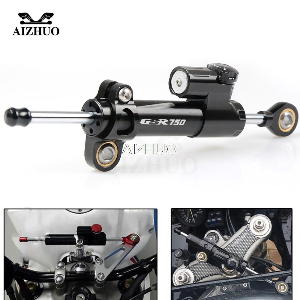 GSR 750   Motorcycle Damper Steering Stabilize Safety Control For SUZUKI GXR 750 GSR750 GSX-S750 2011 2012 2013 2014 15-2016