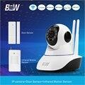 Беспроводной Монитор Камеры Наблюдения IP ИК-ПОДСВЕТКОЙ + Датчик Двери/PIR Motion Sensor Wi-Fi Камеры Охранной Сигнализации ВИДЕОНАБЛЮДЕНИЯ BW02D